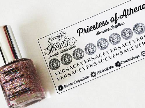 Versace - Nail Decals