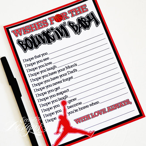 Air Jordan/Jumpman - Baby Shower Game
