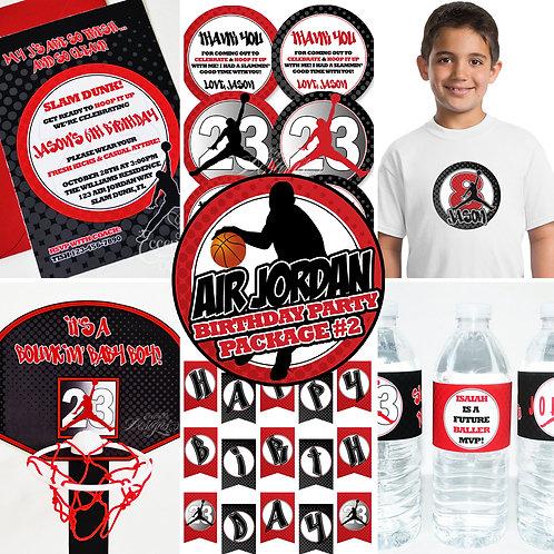 Air Jordan / Jumpman Digital Party In A Box