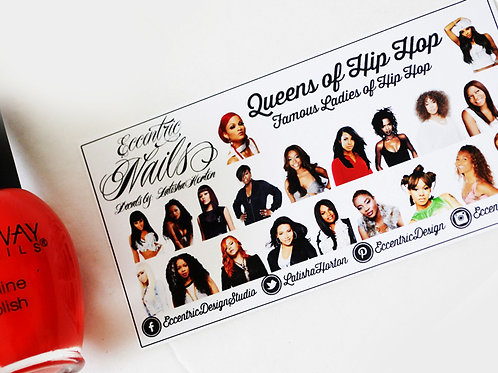 Queens of Hip Hop - Nail Decals