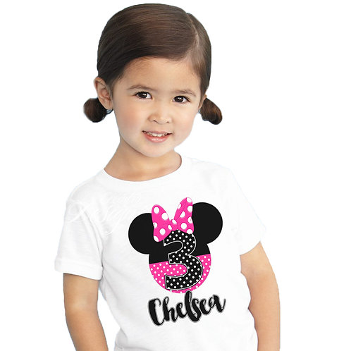 Minnie Mouse - Iron-on Tshirt Transfer