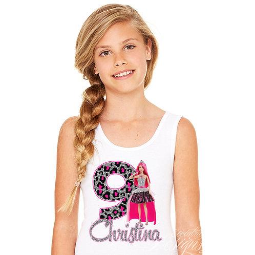 Barbie Rock N Royals - Iron-on Tshirt Transfer