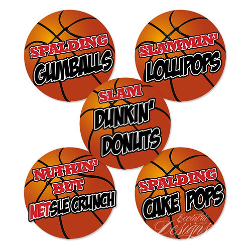 Dessert Table/Candy Buffet Labels (Air Jordan)