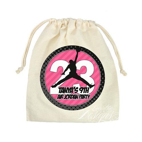 """Air Jordan - 8"""" Favor or Treat Bag Stickers"""