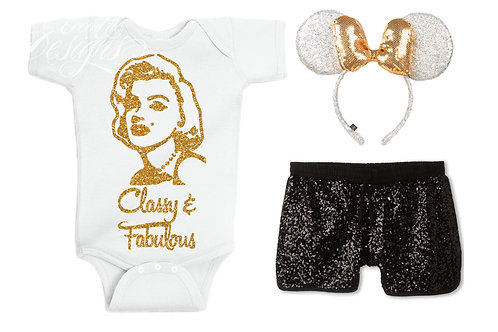 Classy and Fabulous - Baby Iron-on Tshirt Transfer