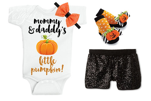 Little Pumpkin - Baby Iron-on Tshirt Transfer