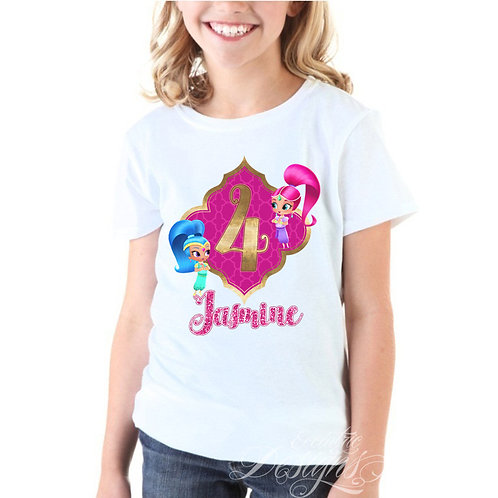 Shimmer and Shine - Iron-on Tshirt Transfer