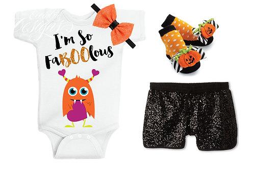 I'm So FaBOOlous - Baby Iron-on Tshirt Transfer