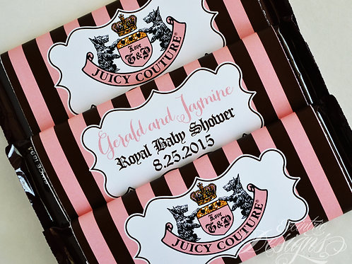 Juicy Couture - Hershey Bar Wrappers