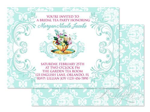 Tea Party - Digital Invitation