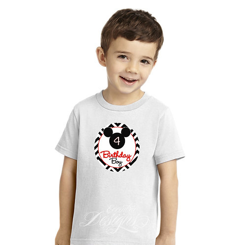 Mickey Mouse - Iron-on Tshirt Transfer