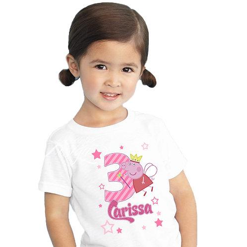 Peppa Pig - Iron-on Tshirt Transfer
