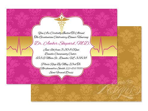 Doctor or RN Nurse - Digital Invitation