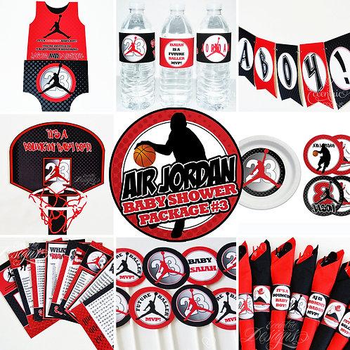 Air Jordan / Digital Baby Shower In A Box