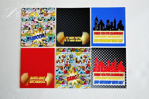 Superhero - Hershey Bar Wrappers