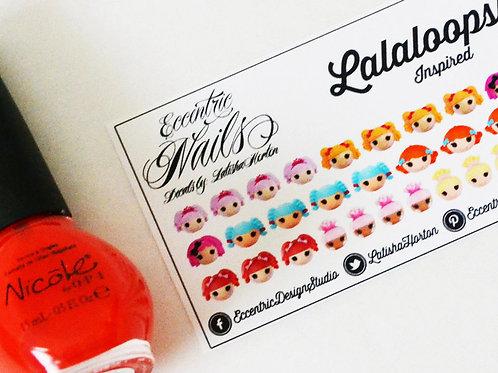Lalaloopsy (Sew Cute) - Nail Decals