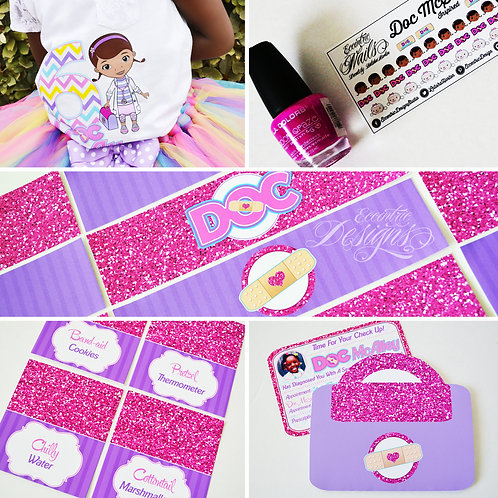 Doc McStuffins Digital Party In A Box