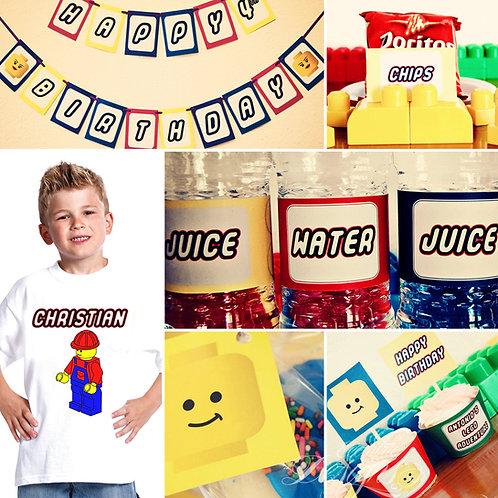 Boy Lego Digital Party In A Box