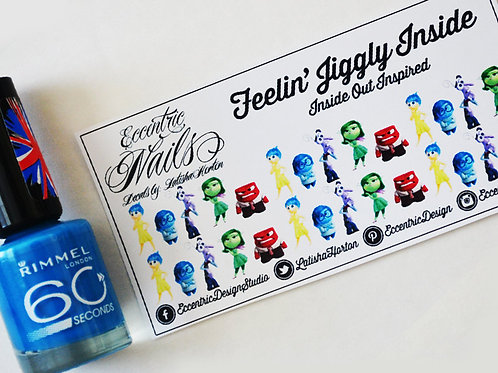 Inside Out - Nail Decals