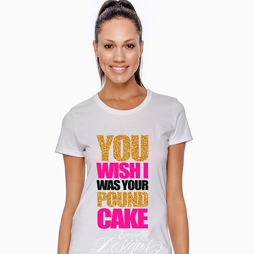 Cake By The Pound - T-Shirt Design