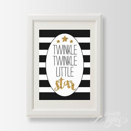 Twinkle Twinkle Little Star - Art Print