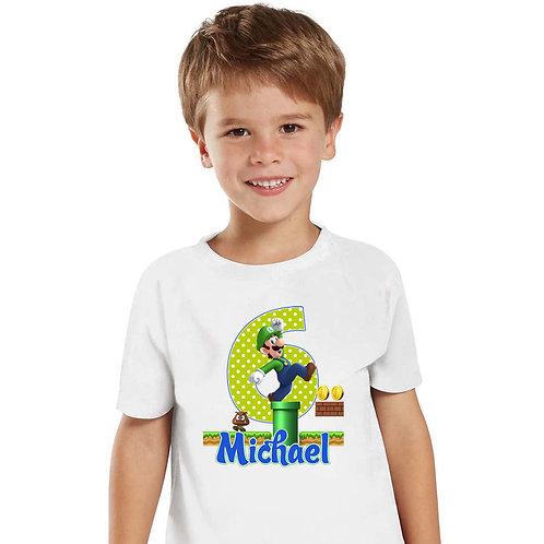 Super Mario and Luigi - Iron-on Tshirt Transfer