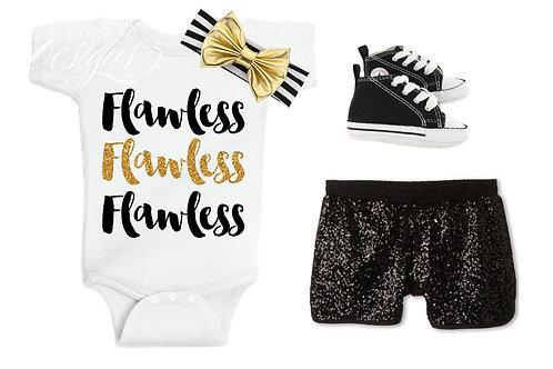 Flawless - Baby Iron-on Tshirt Transfer