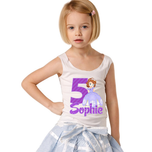 Sofia The First - Iron-on Tshirt Transfer