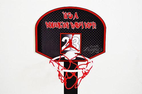 Air Jordan/Jumpman - B-ball Backboard Centerpiece