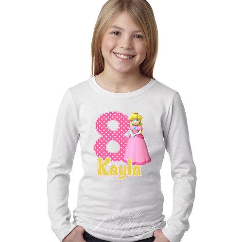 Princess Peach - Iron-on Tshirt Transfer