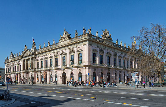 Berlin Zeughaus (Arsenal) Building, presently German Historical Museum