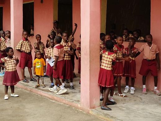 vapaaehtoistyö ghana