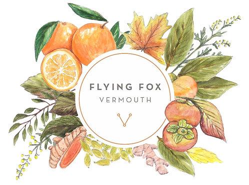 Flying Fox Vermouth. Fall Persimmon/Cardamom