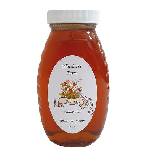 Local Tulip Poplar Honey - 16oz