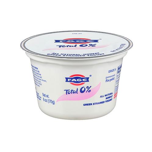 Fage Greek Plain Yogurt 0% - 17.6oz