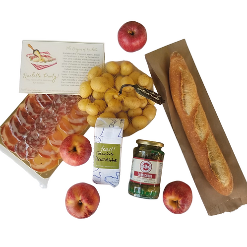 Swiss Raclette Party Pack for 4