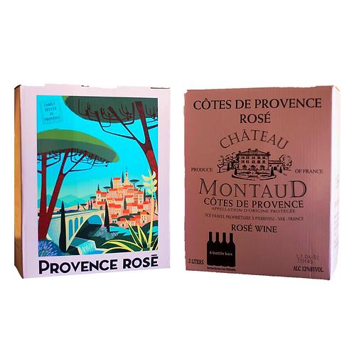 Chateau Montaud Rose, 3L box