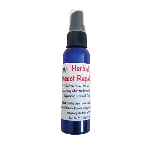 Herbal Insect Repellent - 2oz spritz bottle