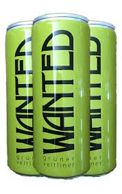 Wanted, Gruner 250ml, 4 pack cans