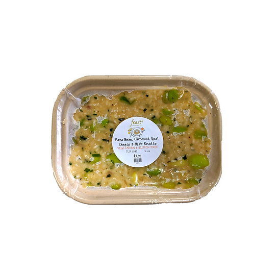 Goat Cheese & Fava Bean Risotto