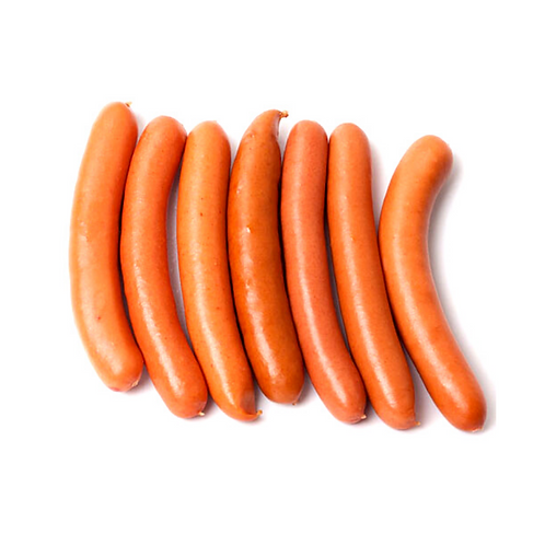 All Natural HOT DOGS - Frankfurters, - 6/pk