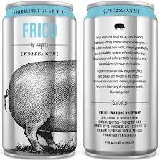 Scarpetta Frico Frizzante, 250ml 4 pack cans