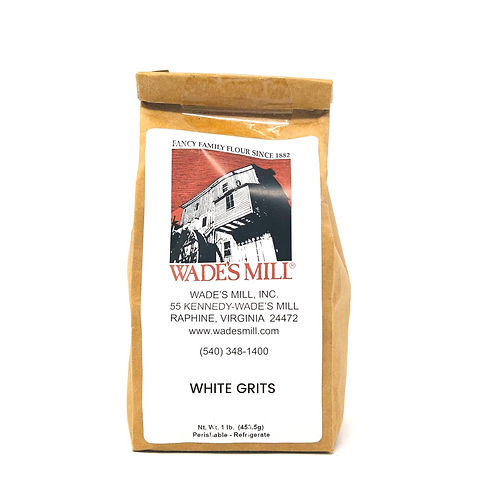 Wade's Mill White Grits - 1lb bag