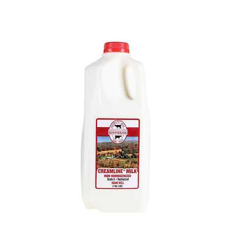 Whole milk, 1/2-gallon