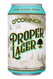 O'Connor Proper Lager, 6 pack