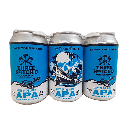 Three Notch'd Ghost APA, 6 pack cans