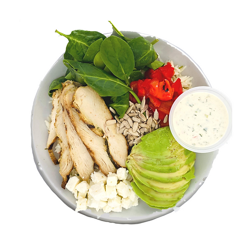 Chicken, Avocado Ranch Bowl - Gluten Free