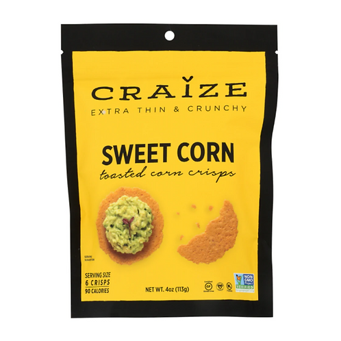 Craize Toasted Corn Crackers - 2 flavors
