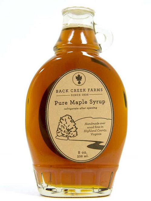 Back Creek Farms: Pure Maple Syrup - 8oz