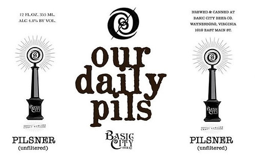 Basic City Our Daily Pils - 6-pack cans
